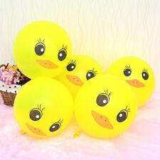 Cute 50pcs Yellow Duck Ballons Celebration Party Wedding Birthday Decor Ballons