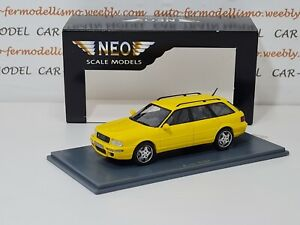 Audi RS2 1994 - Neo Scale Models 1:43 1/43 1-43