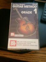 Mel Bay's Modern Guitar Method Grade 1 VHS Lessons For Beginners 1 Hr. 45 min.