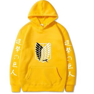 Anime Attack on Titan Hoodie Unisex Sweater 3D Printed Sweatshirt Polyester New