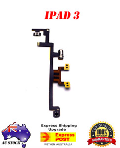OEM iPad 3 Power Volume Button On Switch Flex Cable Mute Replacement