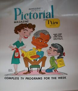 Pictorial & Tview Magazine 1958 Cover Proof Art Father Knows Best Robert Young