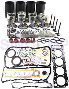 4HE1 4HE1T Engine Rebuild Kit For Isuzu 4.8L Diesel NPR NQR GMC W3 W4 W5 98-04