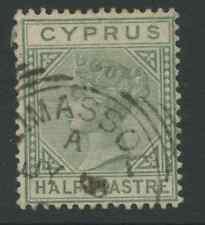 Cyprus SG11 1881 1/2pi Used