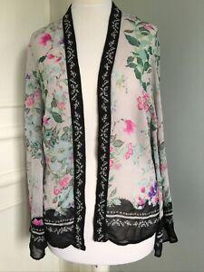 M&S Indigo Kimono Jacket Size 8