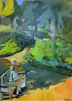 "Landscape Oil Painting, 18""x24"" Original Signed"