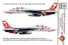 "Hungarian Aero Decals 1/32 F-14A TOMCAT ""MISS MOLLY"" VF-111 & FULL STENCILS"