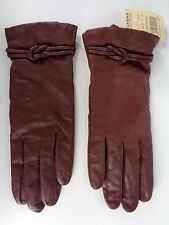 Wilsons Leather Driving Gloves Womens Large Brown