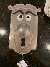 alice in wonderland door knob zipper purse