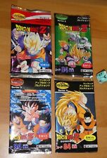 LOT DRAGON BALL Z DBZ SERIE 1,2,3,4 HERO COLLECTION 4 BOOSTER PACK CARD ARTBOX