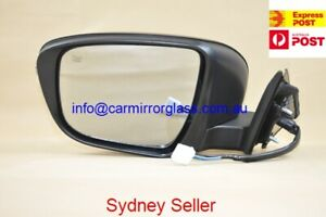 NEW DOOR MIRROR FOR NISSAN X-TRAIL T32 2014 ON~ (LEFT, NO CAMERA, NO AUTOFOLD)