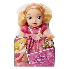 New Disney Princess Baby Aurora Sleeping Beauty Doll With Rattle Jakks