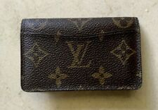 Louis Vuitton Monogram Business Card and ID Holder