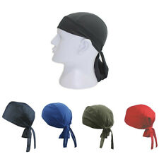 Cycling Pirate Durag Wave Cap Men Women Doo Rag Hat Bonnet Quick Dry Head Wrap