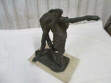 Abstract Surreal Bronze Sculpture