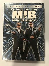 Men In Black (Dvd, 2002, 2-Disc Set, Deluxe Edition) New Sealed Will Smith