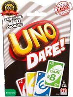 Mattel UNO Dare Card Game