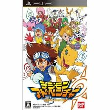 Used PSP Digimon Adventure Japan import