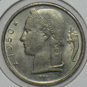 Belgium 1950 5 Francs 195864 combine shipping