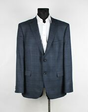 Mario Barutti Comfort Fit Men Wool Cashmere Jacket Blazer Size EU58 UK48, Genui
