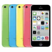 "Apple iPhone 5C 8GB   16GB   32GB - 4G LTE (GSM UNLOCKED) 4"" Display Smartphone"