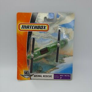 Matchbox 2007 Sky Busters Animal Rescue Helicopter RARE