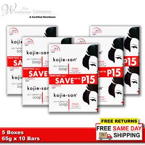 Original Kojie San Skin Lightening Kojic Acid Soap 65g x 10