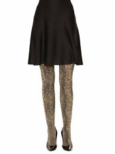 Wolford Rattle (snake print) Tights NEW size XS 93% nylon and 7% spandex