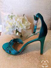 Women's Odessa Twisted Heel Blue Shoe Size 7 $34.99