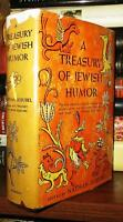 Ausubel, Nathan A TREASURY OF JEWISH HUMOR  1st Edition 1st Printing