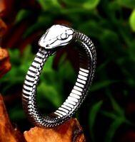 Stainless Steel Snake Ring