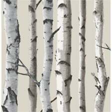 Fine Decor Birch Tree Wallpaper beige naturel, crème (FD31051)