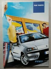Fiat Punto Active, Active Sport, Dynamic, Sporting, HGT, Abarth Brochure 2002
