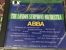 London Symphony Orchestra Play Music of ABBA Symphonic Rock cd CLEAN