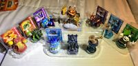 Skylanders Swap-Force Lot Multiple Figures + Tower of Time Expansion + 1 Giants
