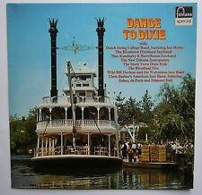 LP Various - Dance To Dixie Holland Fontana Promo 6424 058 Nm Vinyl Jazz