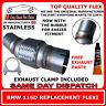 BMW 116D Exhaust Flexi Flex Easy Repair DPF, Cat Pipe, Catalyst Stainless