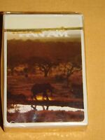 VINTAGE AIRLINES PAN AM AFRICA SOUVENIR PLAYING CARDS UNOPENED