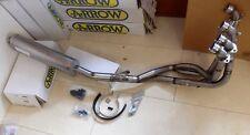 GSX-R 750 IMPIANTO COMPLETO 4in1 titanio silenziatore ABE exhaust downpipe i3002