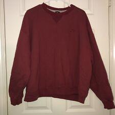 VTG Starter Maroon Pullover Crewneck Sweater Men's XL