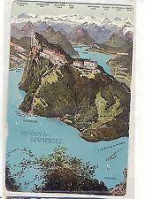 D 489 - Vierwaldstättersee, Panorama bes. Kehrsiten, ugl