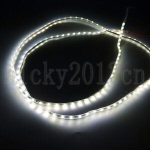 Super Narrow 1M 0805 LED Flexible Strip Light 3mm Width 120LEDs 12V Cold White