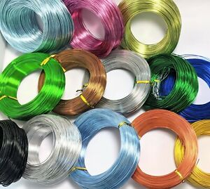 Craft wire Aluminium Choose color n gauge JCE13 101
