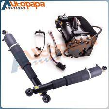 Rear Suspension Air Shocks + Compressor for Cadillac Escalade  Suburban 1500 Z55