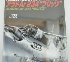 Famous Airplanes of The World No.128 Arado Ar 234 Blitz Military Book