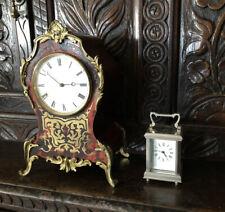 Carro Reloj de vidrio de cinco Miniatura Plateada Con Vidrio Biselado
