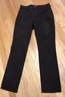 NYDJ Not Your Daughters Jeans Alina Legging Size 8 Lift Tuck Slimming Dark Wash