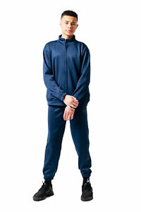 HYPE NAVY ESSENTIAL KIDS TRACKSUIT