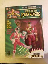 1994 Bandai Mighty Morphin Power Rangers Karate Action Power Ranger Kimberly NIB