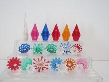 Vintage Plastic Light Reflector Diffuser Lot Christmas Lights Lot